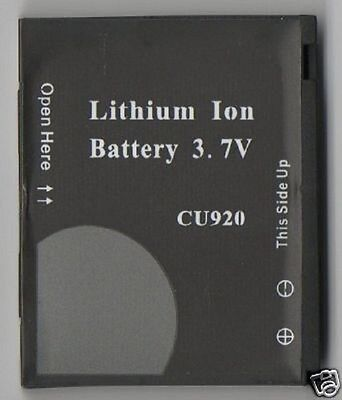 LOT 2 NEW BATTERY FOR LG CU920 Vu CU915 TV 3G AT&T