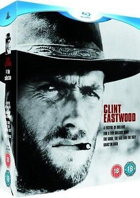 CLINT EASTWOOD - Westerns Collection Box *NEW BLU-RAY*