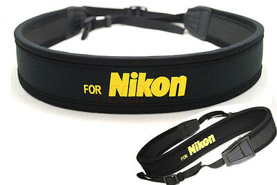 Shoulder/Neck Sling Strap Belt for Nikon Digital & Film SLR Camera & Bag Case