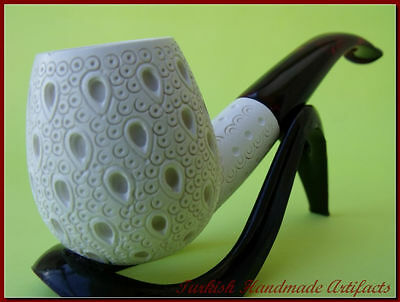 LATTICE Meerschaum Smoking Pipes Tobacco Pipe Pipa 1334