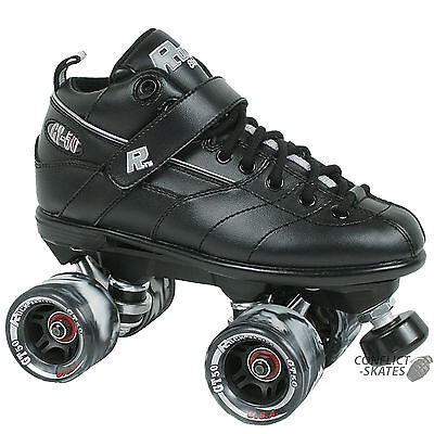 SURE GRIP Rock GT-50 Roller Derby Skates Size 4 to 11UK BLACK Rollerskates
