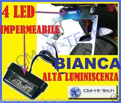 Luce Led Targa Per Scooter Tmax Xmax Sh Beverly Majesty