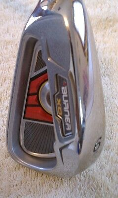 New - TaylorMade Burner XD 6 Iron Graphite Reg LH