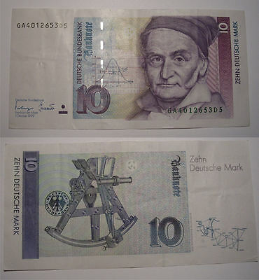 10 deutsche mark
