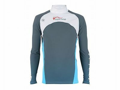 Aqualung Rash Guard IceSpirit Langarm, UV-Schutz Lycra Shirt, UV-Shirt