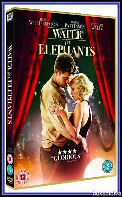 WATER FOR ELEPHANTS - Robert Pattinson, Reese Witherspoon*BRAND NEW DVD*