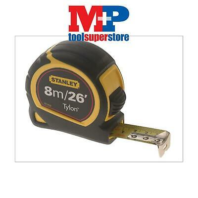 Stanley 130656 Pocket Tylon Tape Measure 8M 8 Metre 26Ft