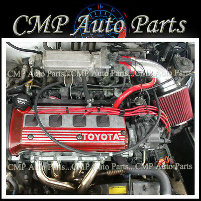 CHF FOR 1992-1999//92 93 94 95 96-99 TOYOTA PASEO 1.5 1.5L I4 RED AIR INTAKE KIT