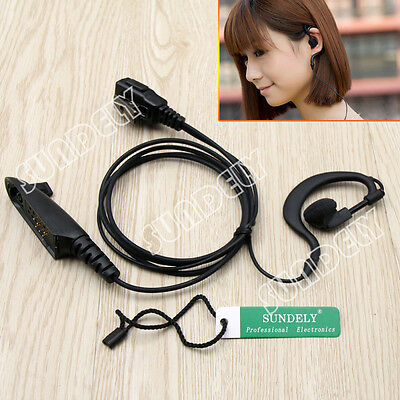 Ear Headset Clip/Earpiece Motorola Radio HT750 HT1250 HT1250LS HT1550 HT1550XLS