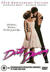Patrick Swayze Jennifer Grey DIRTY DANCING (15TH ANNIVERSARY EDITION) DVD