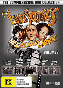 The Three Stooges Volume 7 - The Comprehensive Collection 5 Movie Dvd