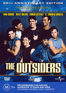 Patrick Swayze THE OUTSIDERS (20TH ANNIVERSARY EDITION) DVD