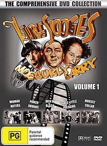 The Three Stooges Volume 1 - The Comprehensive Collection 5 Movie Dvd