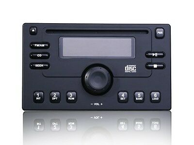 Security Faceplate Panel Cover for Double Din Car Stereo