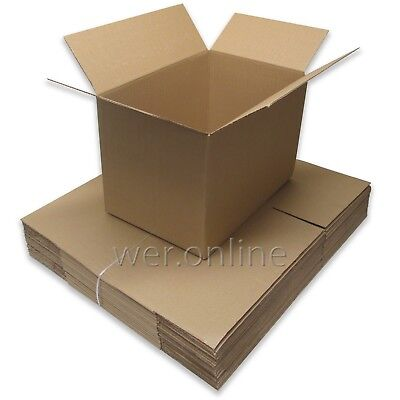"10 Postal Packing Mailing Cardboard Boxes 18x12x12"" SW"
