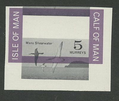 IOM Calf of Man 1963 1st Birds moved Shearwater margin