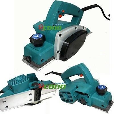 "500W 3 1/4"" Electric Wood Planer Wood Working"