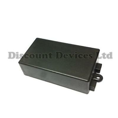 Black ABS Plastic Enclosure Small Project Box For Electronic Circuits 65x38x22mm