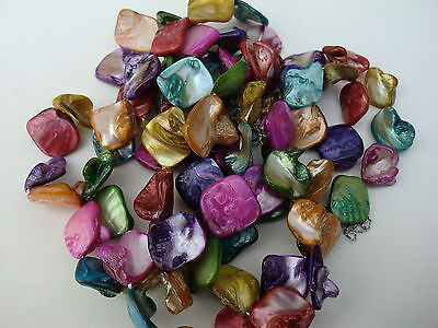 Wholesale & Job Lot 500 gram Of Mother of Pearl Beads Mosaic UK Seller Delivery