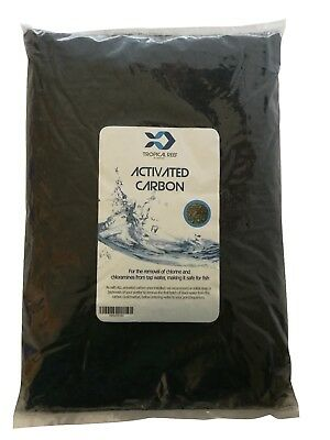 Tropical-Reef 4Kg Activated Filter Carbon Media For External Filters Active