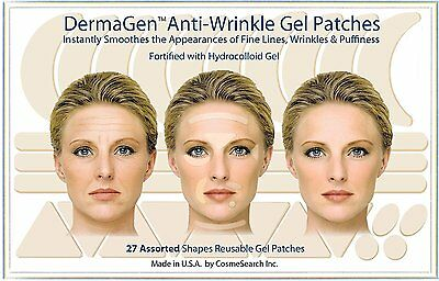 Dermagen Anti-Wrinkle Patches Frown Lines Smile Lines Forehead Creases