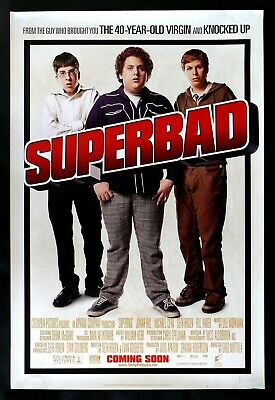 SUPERBAD *1SH ORIGINAL MCLOVIN DS MOVIE POSTER SUPER BAD 2007 CineMasterpieces