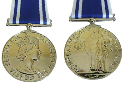 Police Long Service & Good Conduct Copy Medal Loose Or Court Mounted