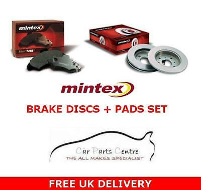 FOR ROVER 75 REAR MINTEX BRAKE DISCS PADS WIRE 1.8 1.8T 2.0 2.0 CDTi 2.5 TOURER