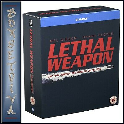 Lethal Weapon - Complete Collection 1 2 3 & 4 *brand New Blu-Ray Region Free
