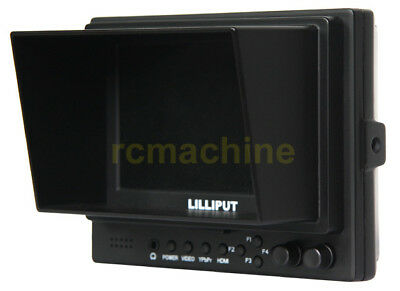 "Lilliput 569GL-50NP/HO/Y 5"" LCD Video Camera Monitor w/ YPbPr Input, HDMI In Out"