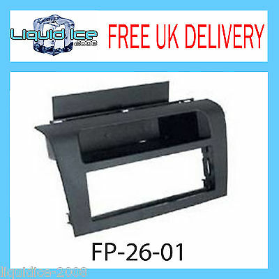 Fp-26-01 Mazda 3 2003 -2010 Single Din Black Fascia Adaptor Panel Surround