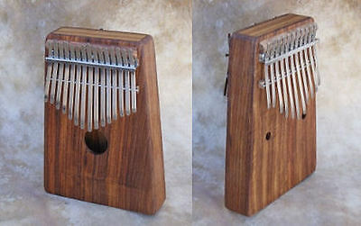 Hugh Tracey Alto chromatische Kalimba (Box) ohne Pick Up