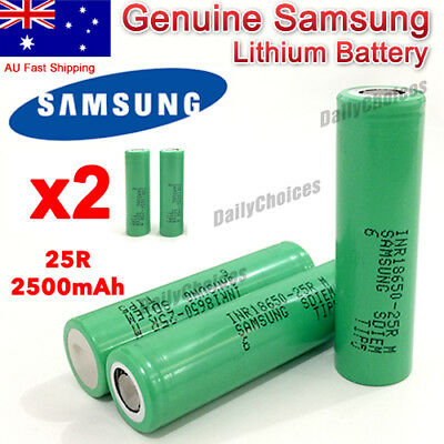 Genuine Sony Samsung LG 20A 18650 Rechargeable Vape Vaping Lithium Battery