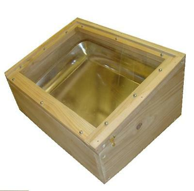 Solar Wax Extractor - Wax Oven - Cedar - Beekeeping - Melting - Beeswax Melting