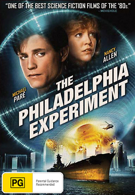 Michael Paré Nancy Allen THE PHILADELPHIA EXPERIMENT - NAVY SHIP ACTION DVD