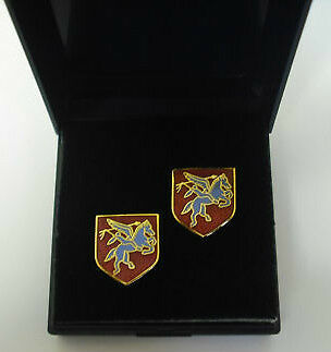 Pegasus Airborne Cufflinks Cuff Links,boxed And Ready For A Quick Dispatch