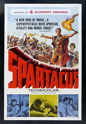 Spartacus * 1Sh Original Movie Poster Gladiator 1961