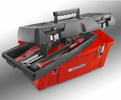 """FACOM 47 LITRE TOOLBOX  EX LARGE 24""""  610 X 270 X 280mm + Tote Tray"""
