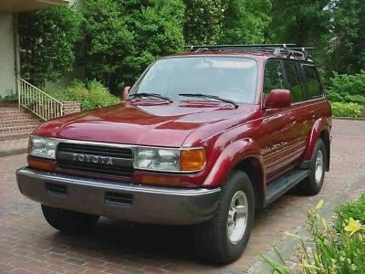 Toyota Landcruiser 80 Series 1990-1997 Workshop Manual
