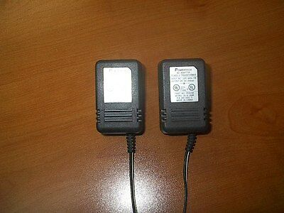 TWO Powertech AC Adaptor 9VDC 200mA, PV920R, 35-9-200R, NO PLUGS-Bare Ends