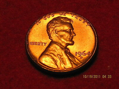 1964 D Lincoln  Memorial Cent from -BU- Roll-Tempting