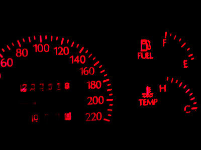 HOLDEN COMMODORE VT VX RED LED Dash Light - Including  one for the LCD Display