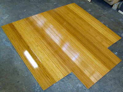 Chair Mats / Wooden / Natural / 2 Mats For $196- Includes Gst And Ozwide Postage