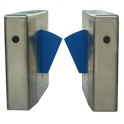Auto Set Box Flap Barrier Half Height For Access Control
