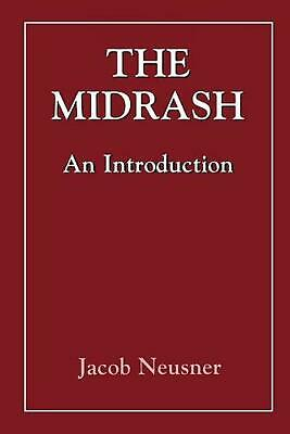 Midrashan Introduction by Jacob Neusner (English) Paperback Book Free Shipping!