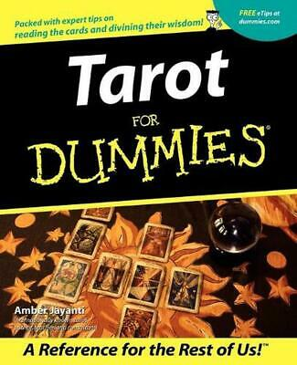 Tarot for Dummies by Amber Jayanti (English) Paperback Book Free Shipping!