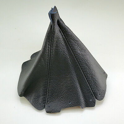 Black Leather Shift Boot Gear Gaiter Cover Sleeve fit Mazda MX5 1998-2005