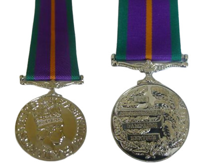 Accumulated Campaign Service Medal Full Size Acsm Loose Or Court Mounted