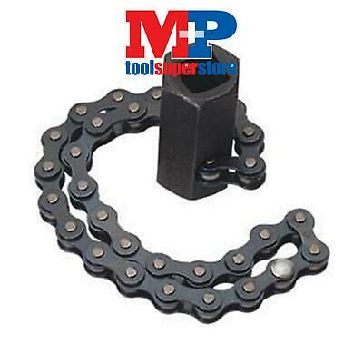 "Draper 77592 Oil Filter Removal Tool Chain Wrench 1/2"" 130Mm Capacity **"