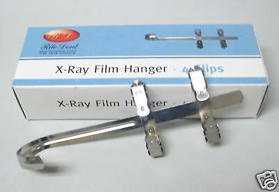 New Dental X-Ray Film Hanger 4 Clips For Xray Hold Film During Development